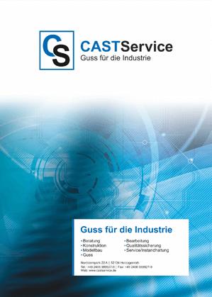 Broschüre CASTService GmbH